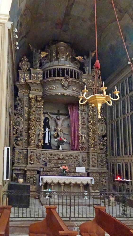 Retable de la chapelle du Christ