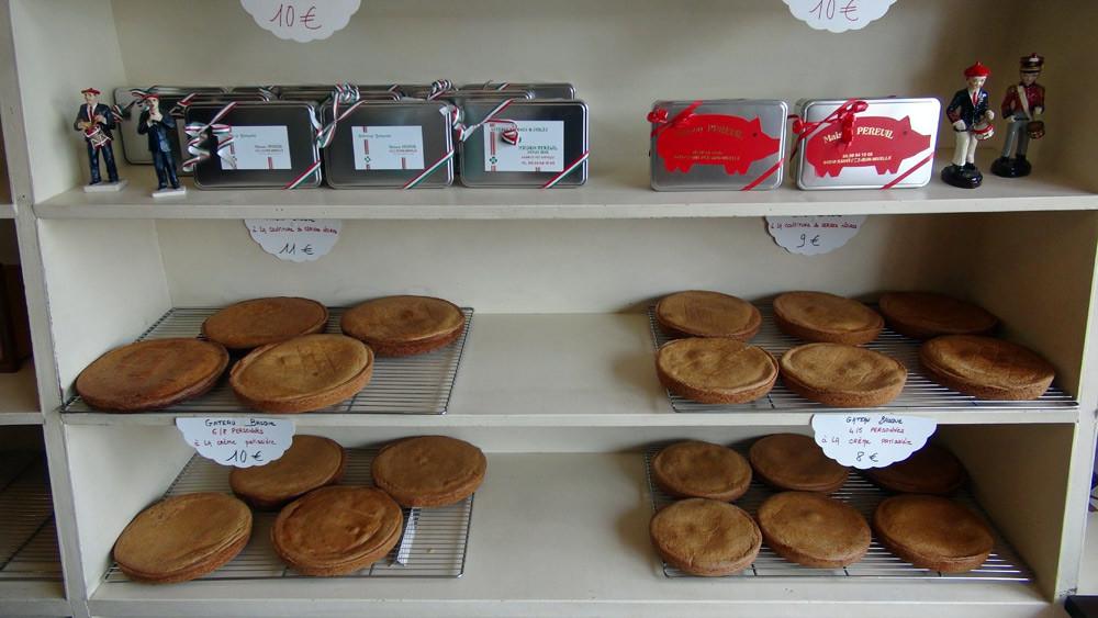 Gâteaux basques de la maison Pereuil