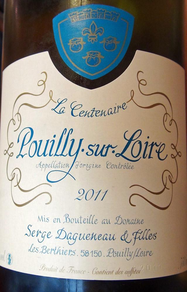 Pouilly-sur-Loire 2011 de Serge Dagueneau et filles