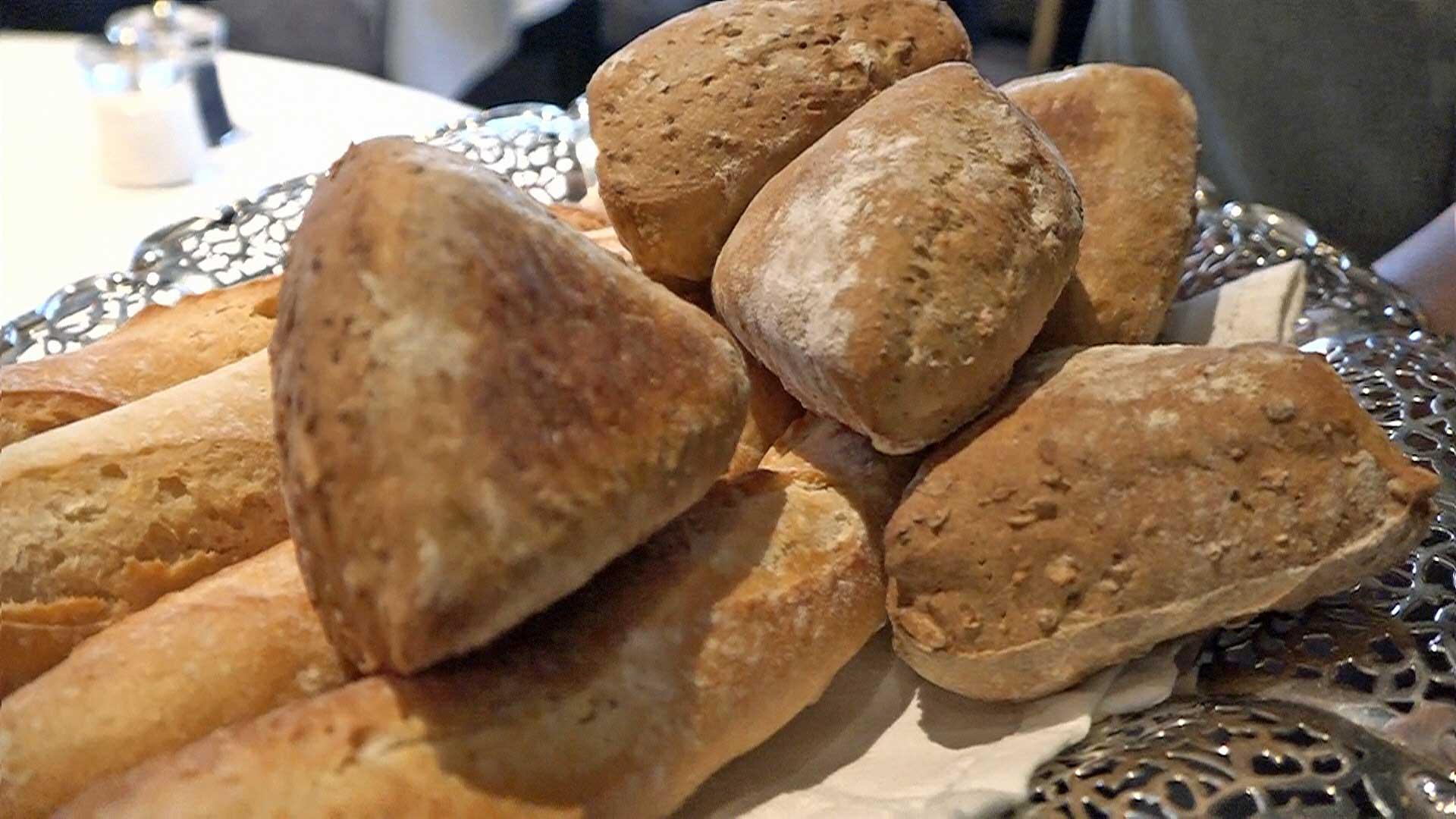 Les 2 pains proposés : Traditionnel et Céréales