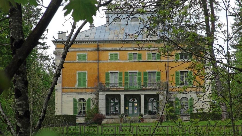 La villa Palladienne de Syam sous un autre angle