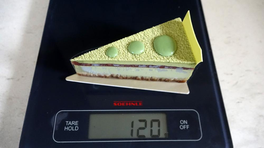 Cheesecake dépaysé : 116 g net