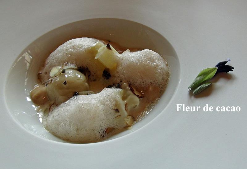 Autour du topinambour, crème de Pierre-Robert & truffe