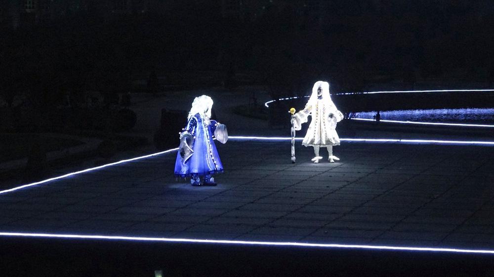 Louis XIV et le conteur