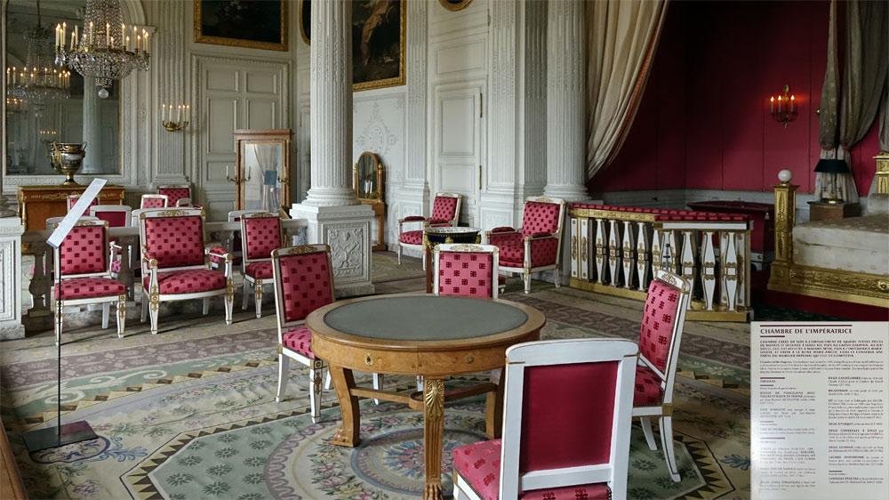 Le Grand Trianon : Chambre de l'Impératrice