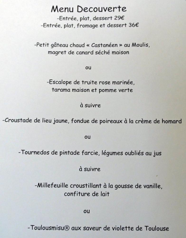 """Le menu """"Découverte"""""""