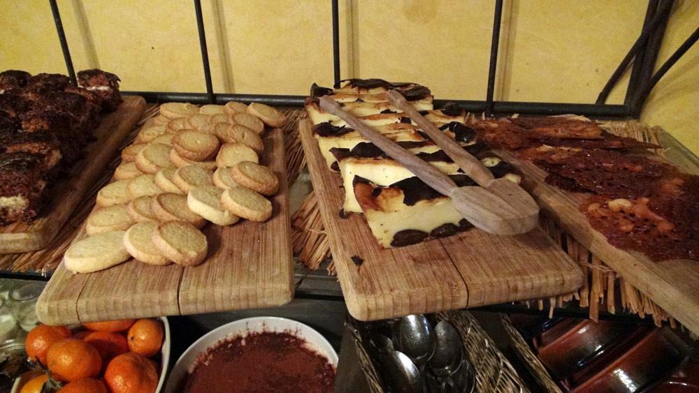 Le buffet de desserts en détail
