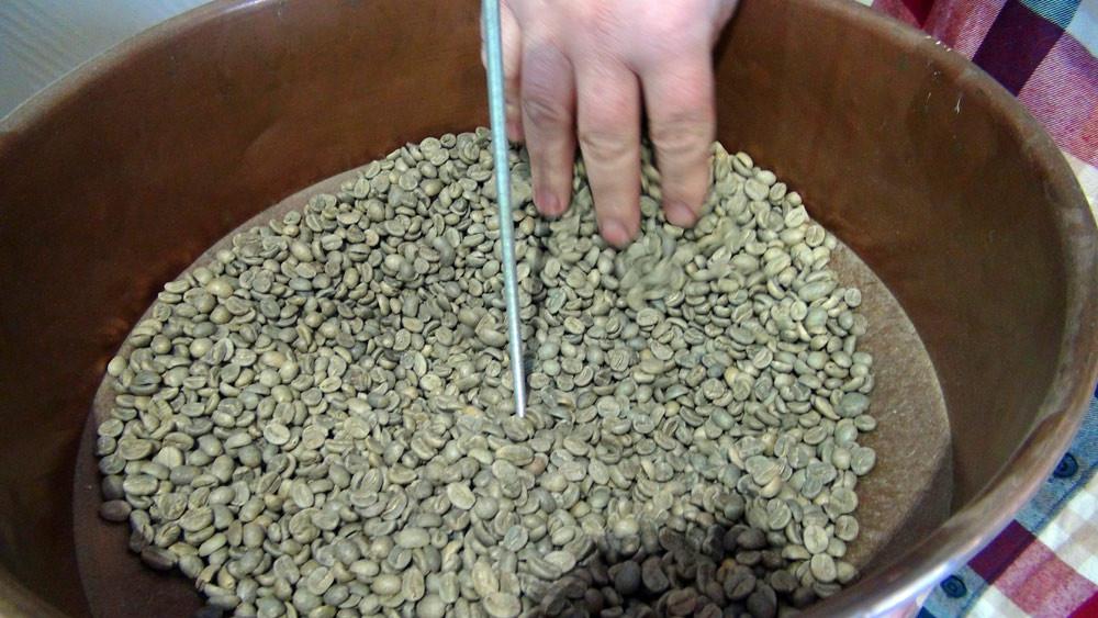 Le café vert avant sa torréfaction