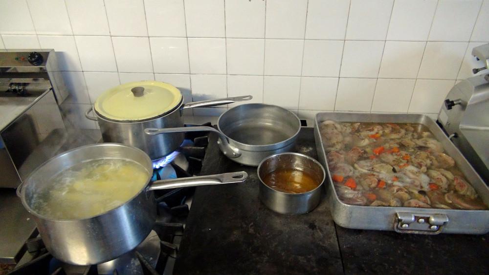 Quelques plats qui mijotent