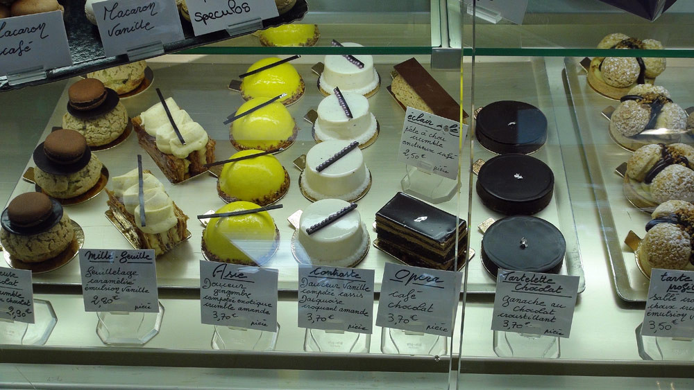 Religieuse chocolat - Millefeuille - Asie - Contraste - Opéra - Tartelette chocolat - Tarte profitérolles