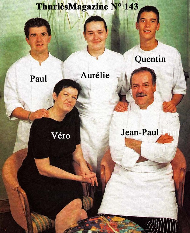 Véro, Jean-Paul, Aurélie, Paul & Quentin - Photo Thuriès magazine N° 143 d'octobre 2002