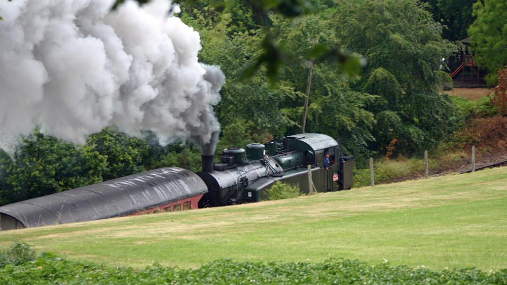 Le vapeur du Trieux de retour à Paimpol