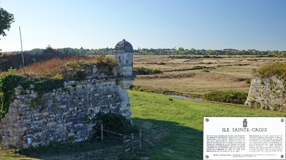La citadelle d'Hiers-Brouage