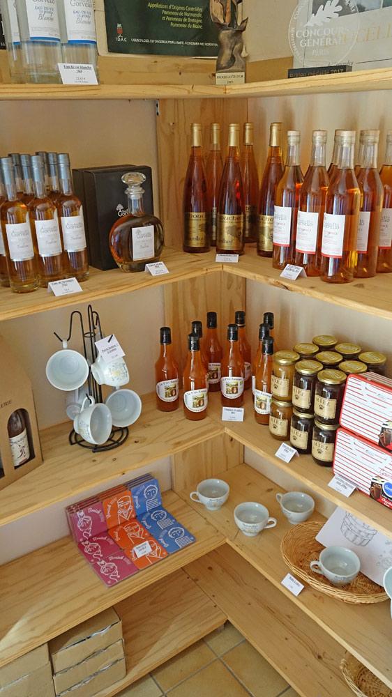 Miels, Vinaigre de cidre, Fine de Bretagne ...