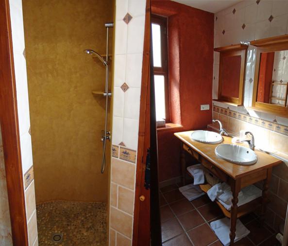 Douche & cabinet de toilette