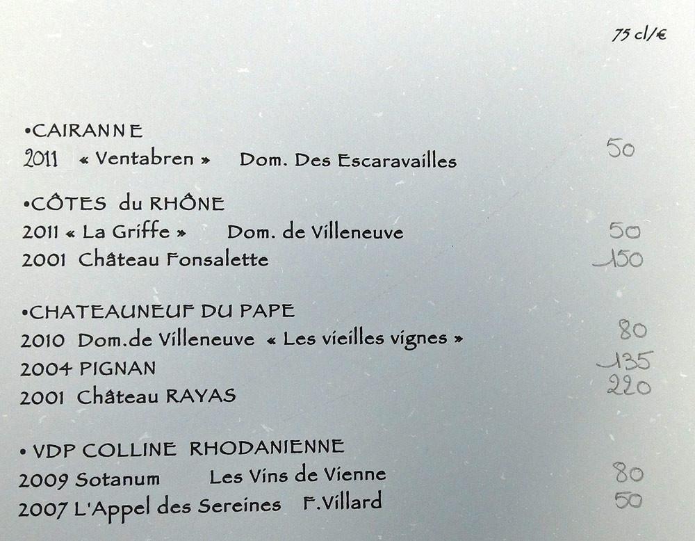 Vins de la Vallée du Rhône et de Provence (suite)