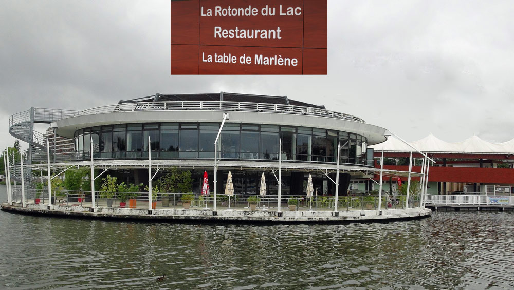 La Table de Marlène, vue depuis le ponton d'en face