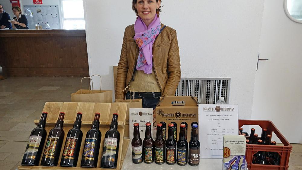 Carole Hönigmann, alsacienne de souche