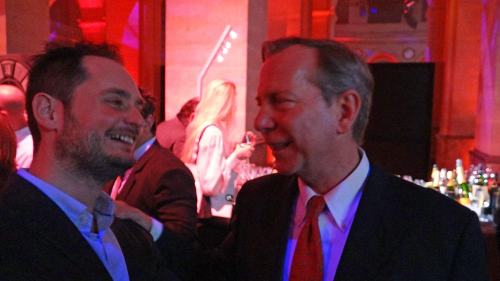 Michael Ellis et Alexandre Couillon au Palais Brongniart le jeudi 9 février 2017