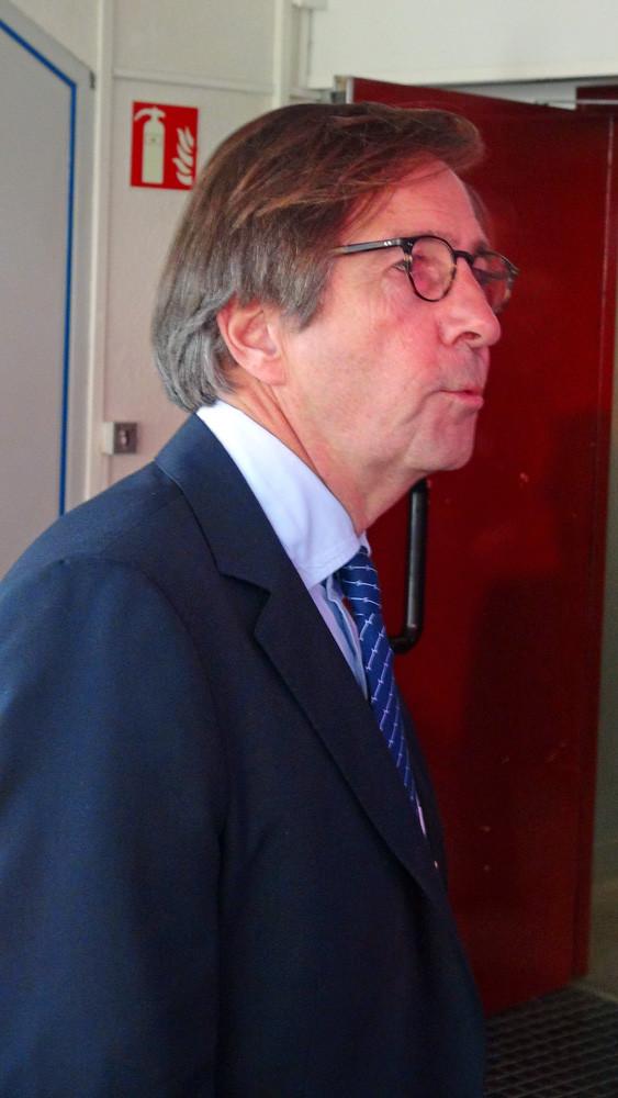 Olivier Roellinger était bien présent au BarJu, même si ce cliché a été pris plus tard