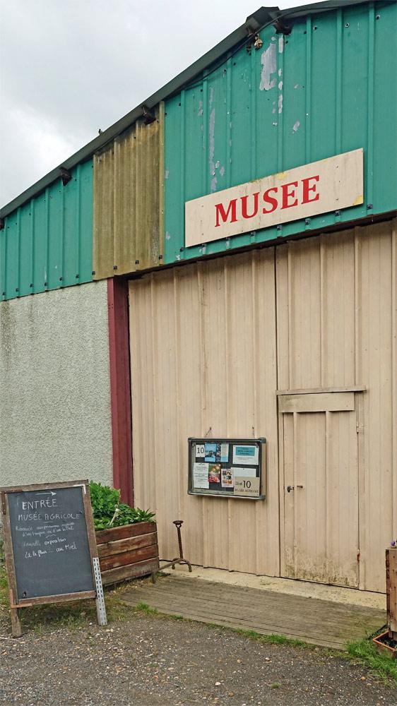 Le Musée agricole (3 € 00 l'entrée en visite libre)
