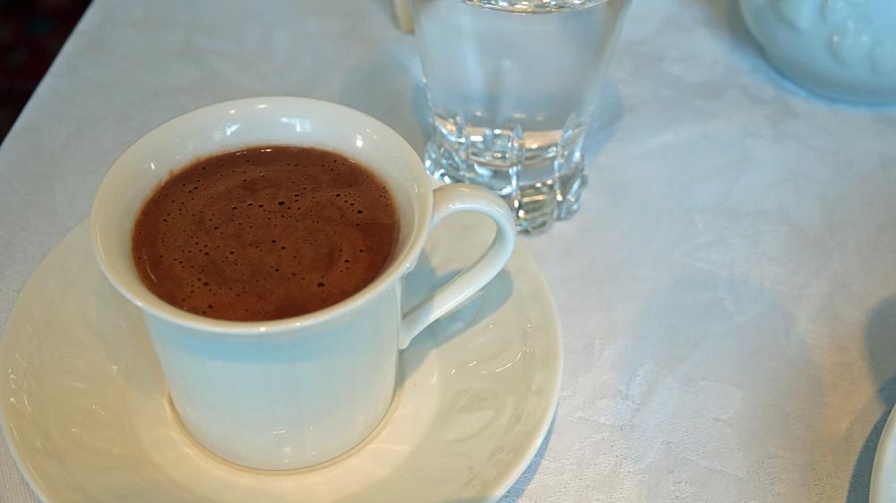 Chocolat maison du petit déjeuner
