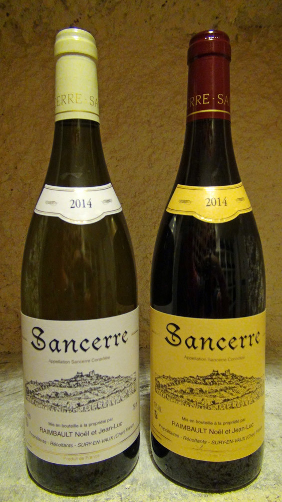 """Sancerre """"blanc"""" et """"rouge"""" 2014"""
