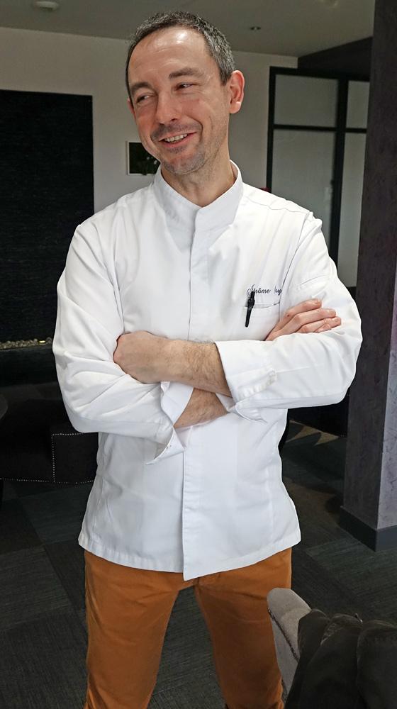 Le chef et propriétaire : Jérôme Roy