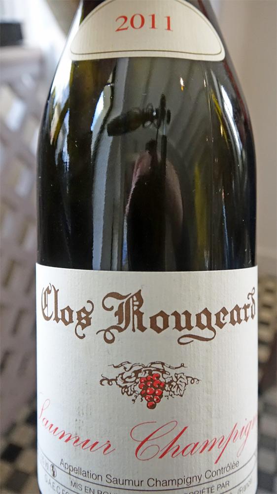 """Saumur-Champigny 2011 """"Clos Rougeard"""" offert par Jacky Dallais"""