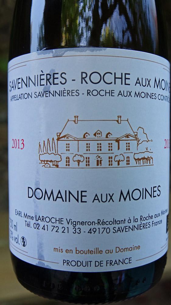 Savennières Roche aux Moines 2013