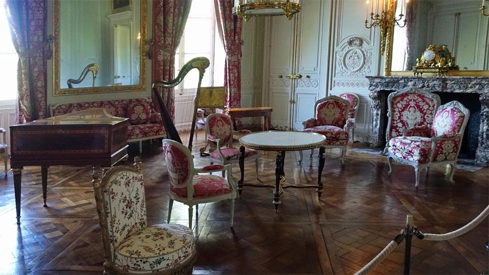 Le Petit Trianon : Salon de compagnie