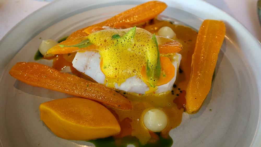 Le merlu, la carotte, la poire et la verveine