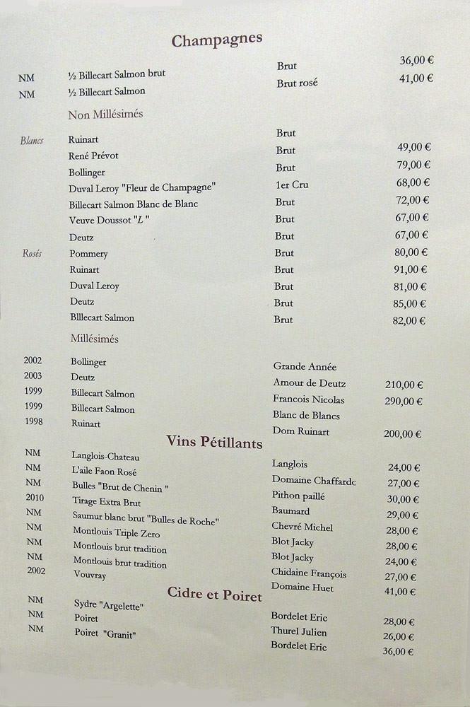 Champagne, Pétillants et Cidres