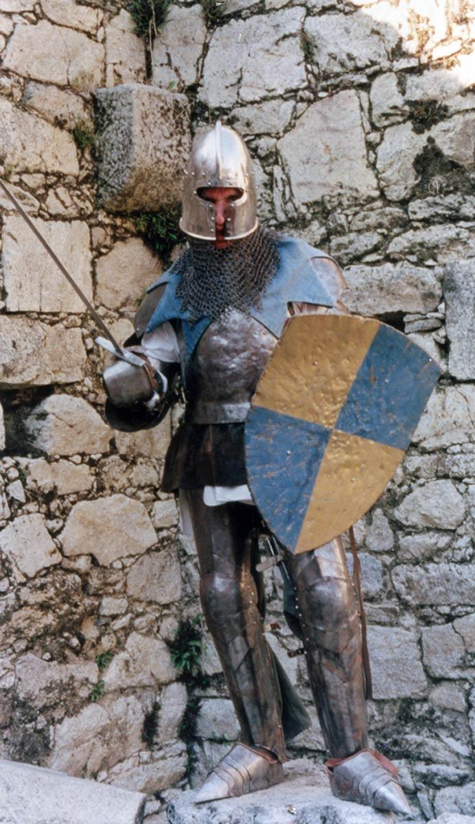 Un chevalier en armure - 1998