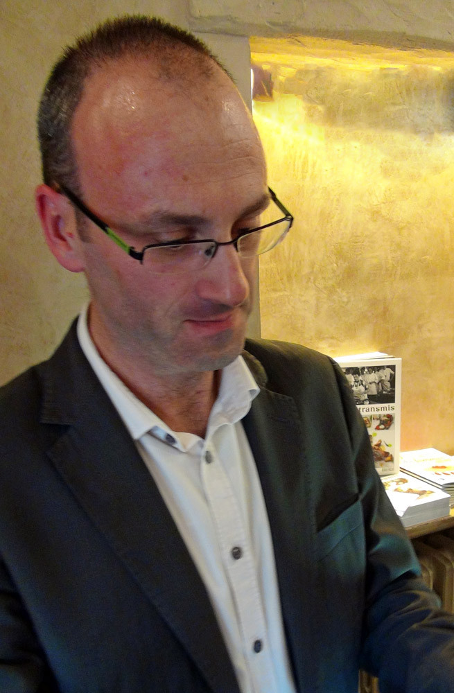 Gilles Héliez, sommelier