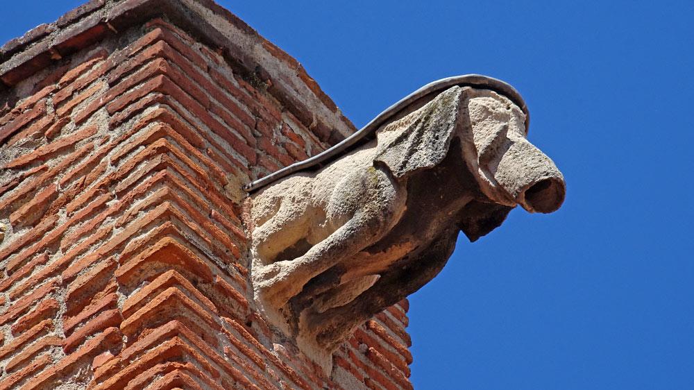 Gargouille de la cathédrale Saint-Jean-Baptiste