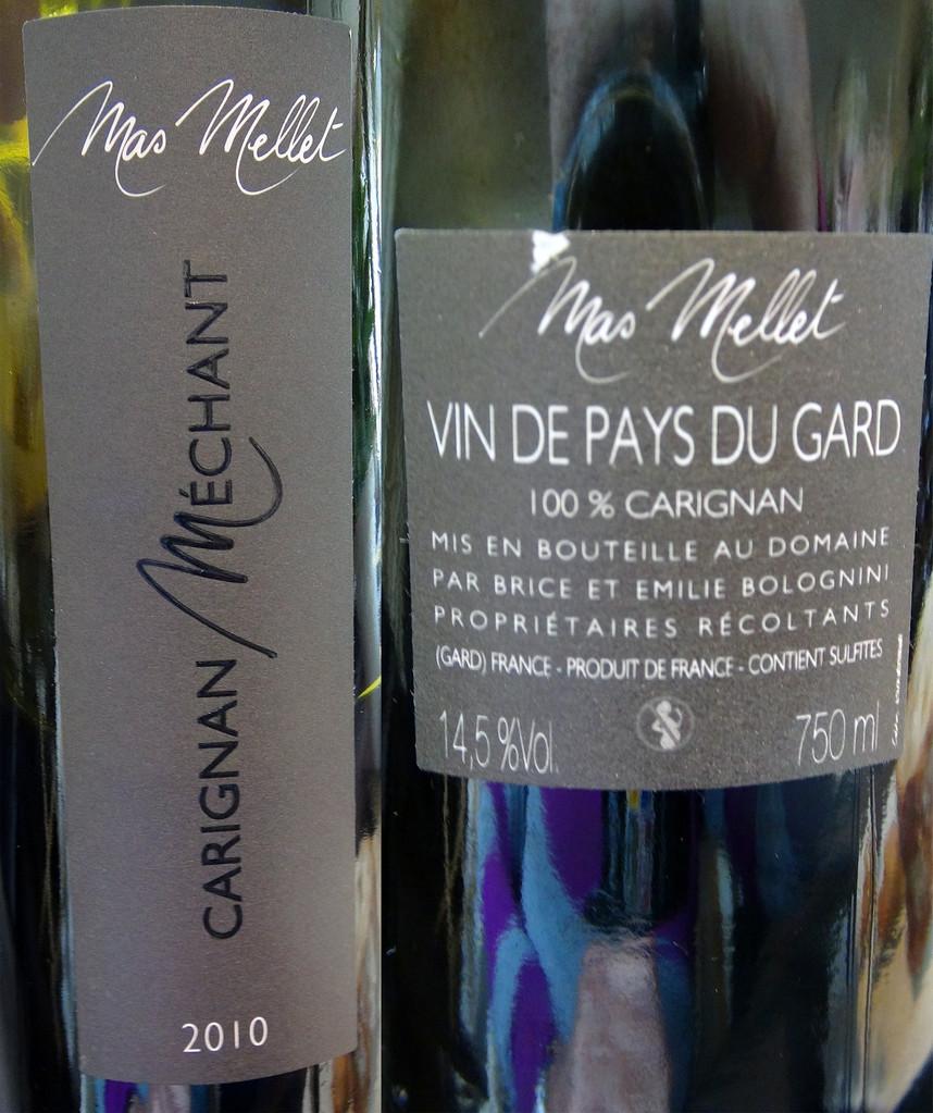 Vin de Pays du Gard du Mas Mellet