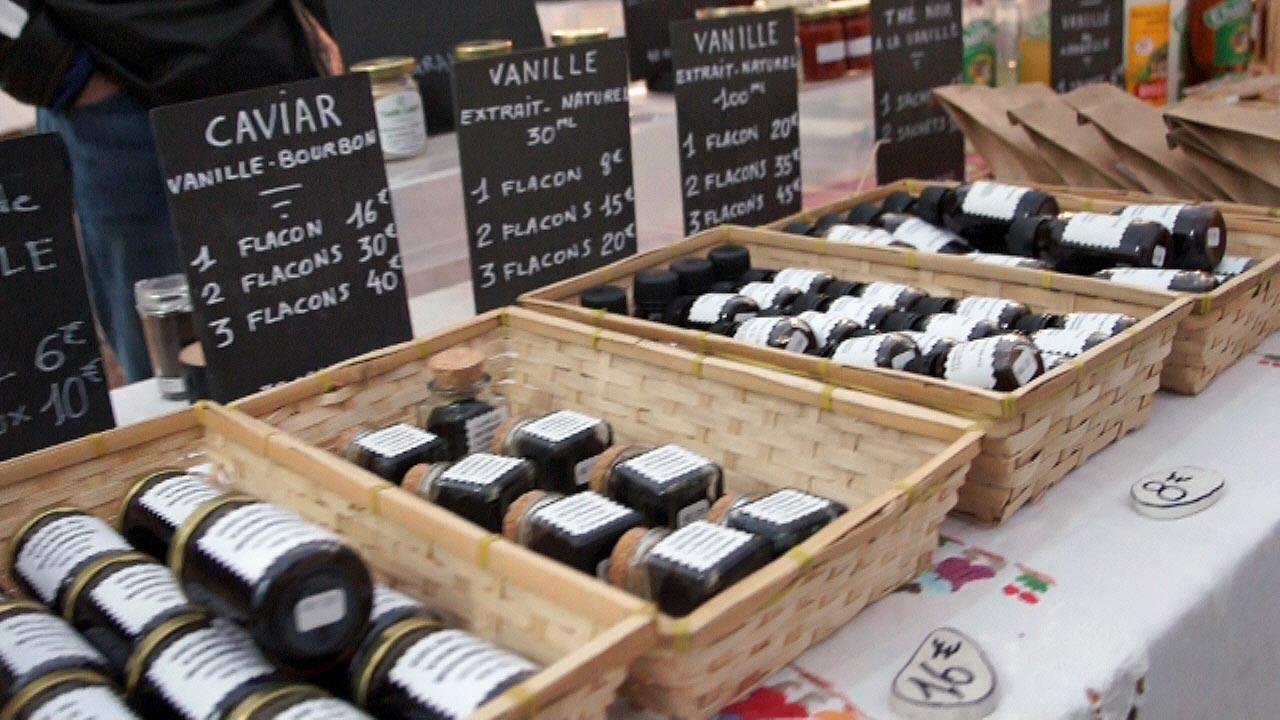 """Produits de la vanille, dont le fameux """"caviar"""", dont l'appelation est illégale"""
