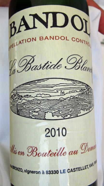 """Bandol AOC """"La Bastide Blanche"""" 2010"""