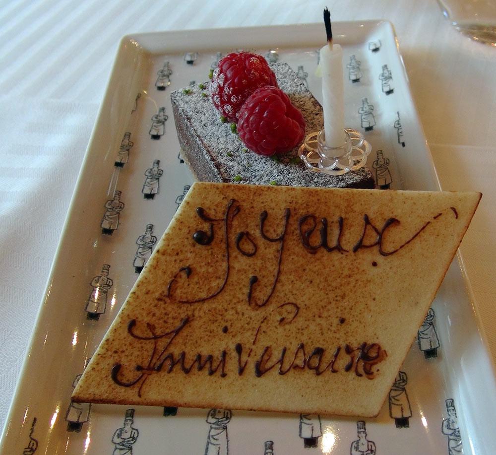 Gâteau d'anniversaire à partager