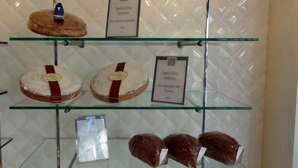 Saint-Martin - Nougat de Tours - Cake aux fruits confits - 26 septembre 2014