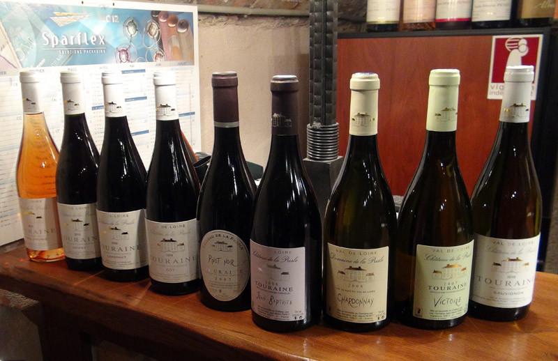La gamme des vins : blancs, rouges et rosé
