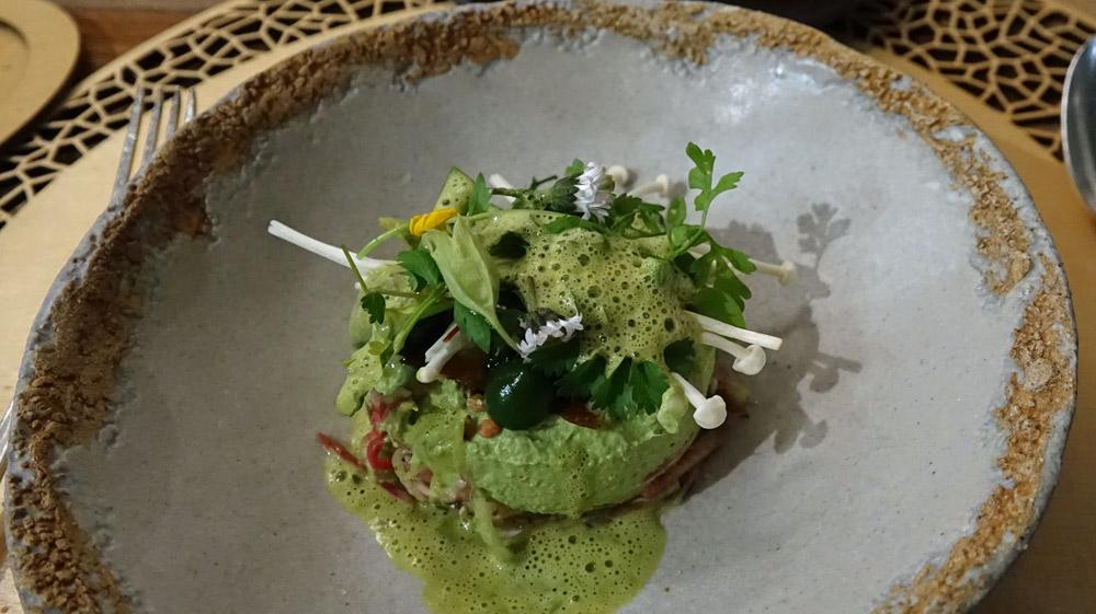 Le 100% végétal, champignons de Saumur et herbes folle