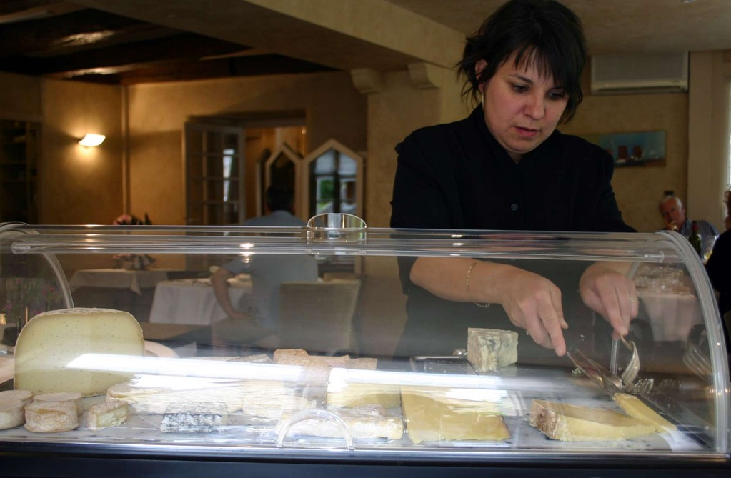 Maguy et ses fromages