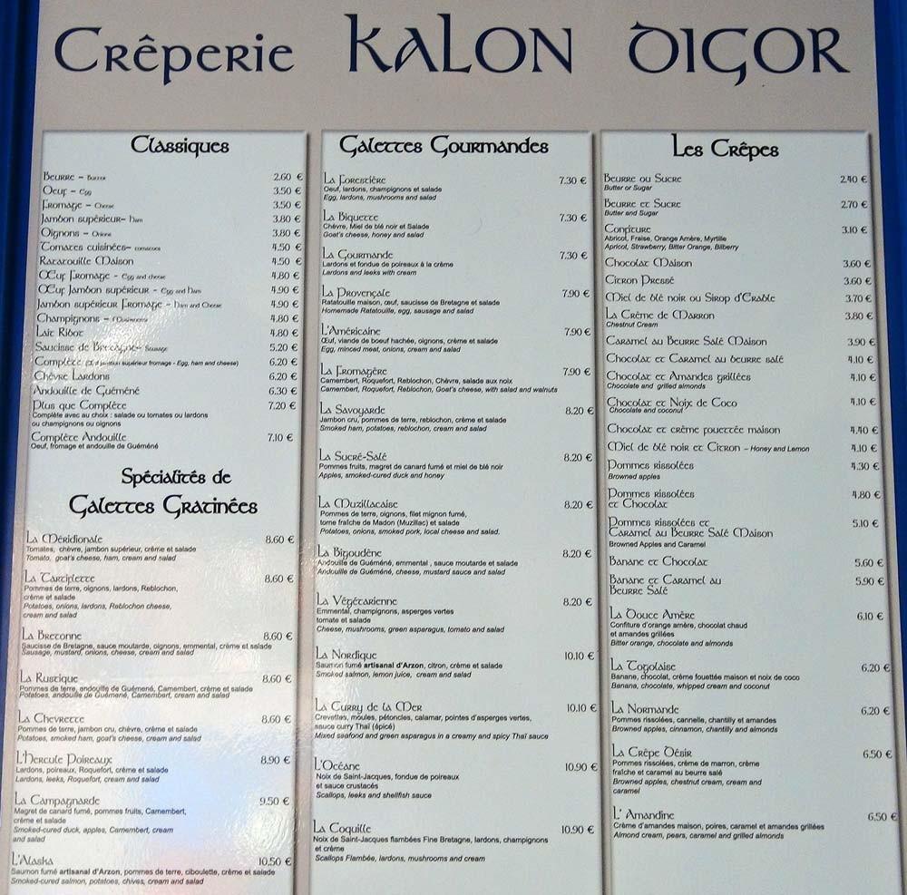 Galettes & Crêpes