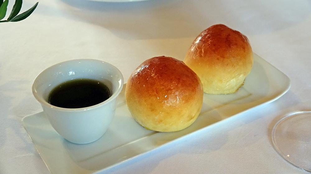 Brioche et huile d'olive