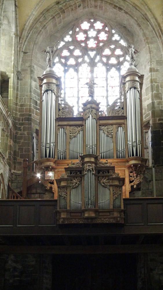 Cathédrale de Tréguier, les orgues