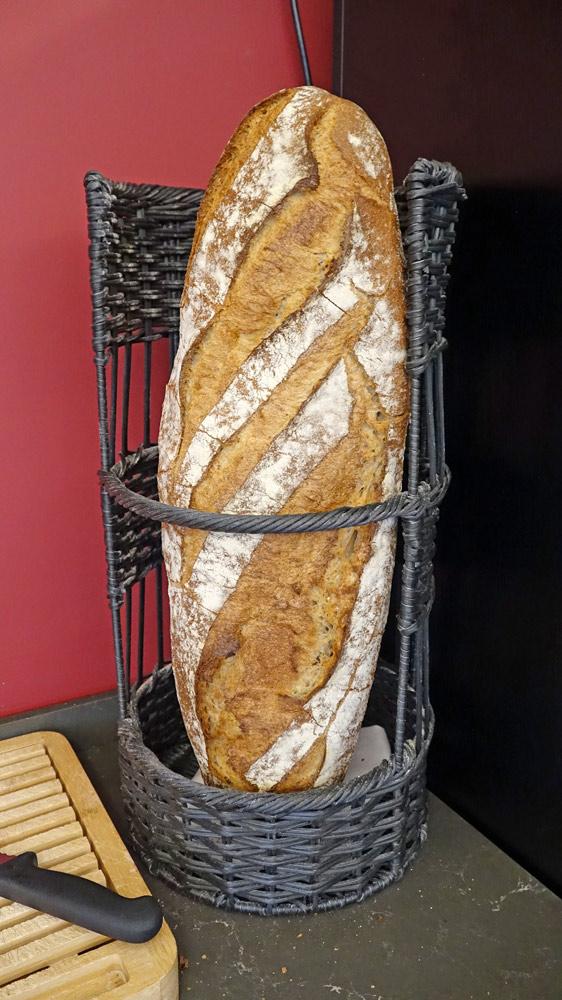 Le magnifique pain de la boulangerie Alix de Montluçon