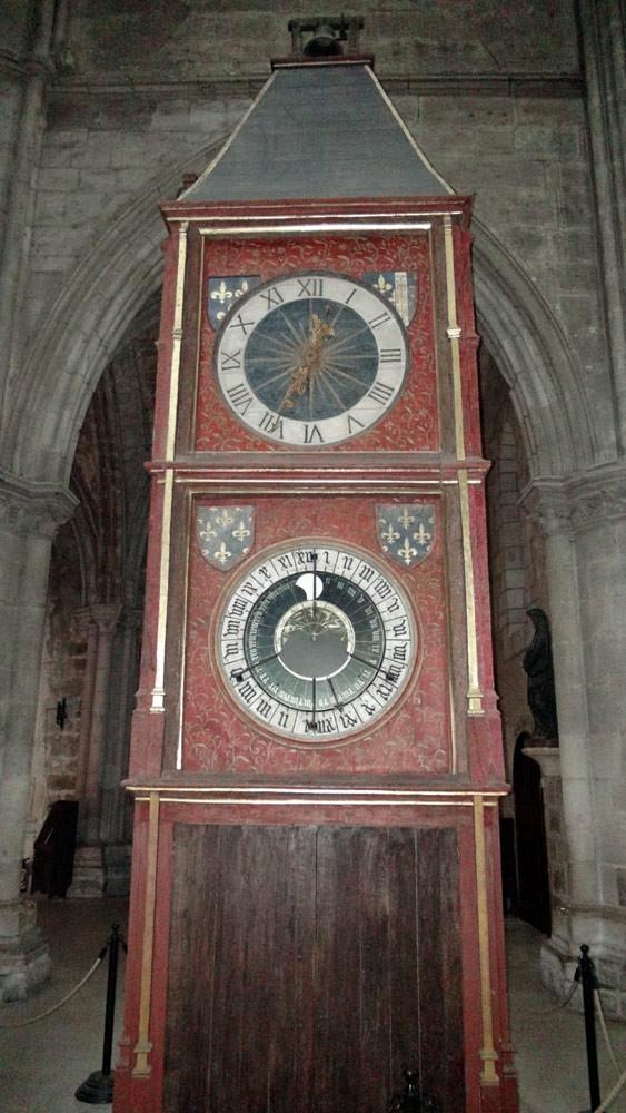 L'horloge astronomique conçue par le chanoine mathématicien Jean Fusoris en 1424