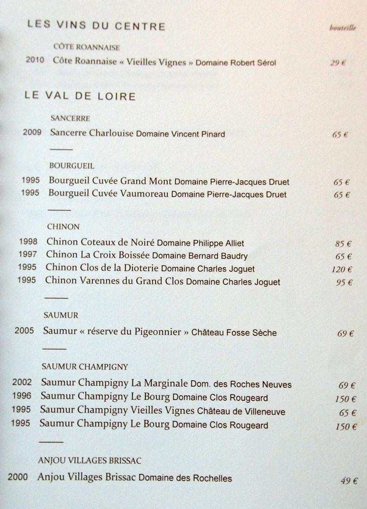 Les vins du Centre